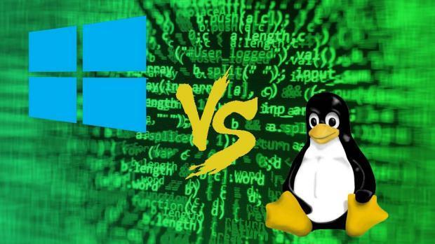 سیستم عامل ویندوز و لینوکس